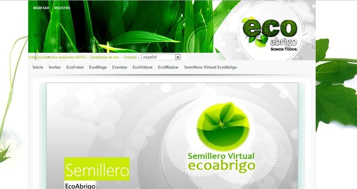 Nuestra Red Social. Hoy la Fundación EcoAbrigo Somos Todos.  Nuestro orgullo en conjunto con nuestros aliados:  VirtualColombia, C.C. Monterrey y PCreativa.  http://ecoabrigo.com.co
