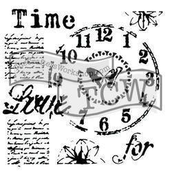 """Šablona 12""""x12"""" (30,5 x 30,5 cm), Time for love"""