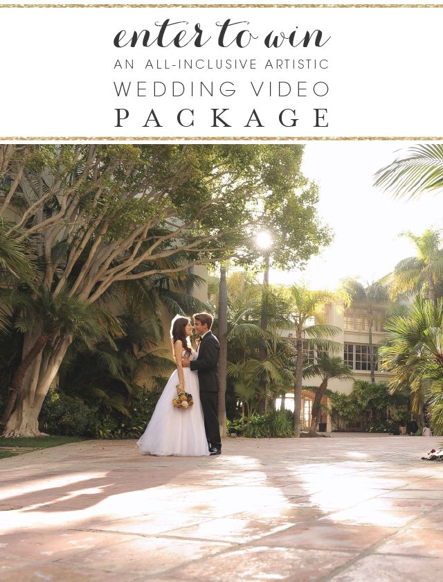 Win a wedding videography package from NST Pictures! www.nstpictures.com #weddings #sweepstakes #weddingvideos