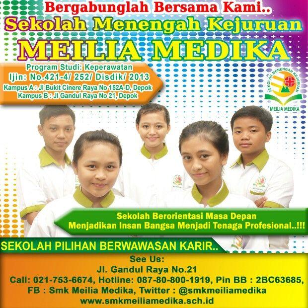 #daftar #sekolah #smk #keperawatan #perawat #sehat #kesehatan #cinere #rsmeilia #meiliamedika #terbaik #depok