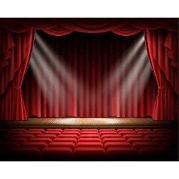 Gambar Tirai Tirai Langsir Tirai Pentas Png Dan Psd Untuk Muat Turun Percuma Red Curtains Curtains Stage Curtains