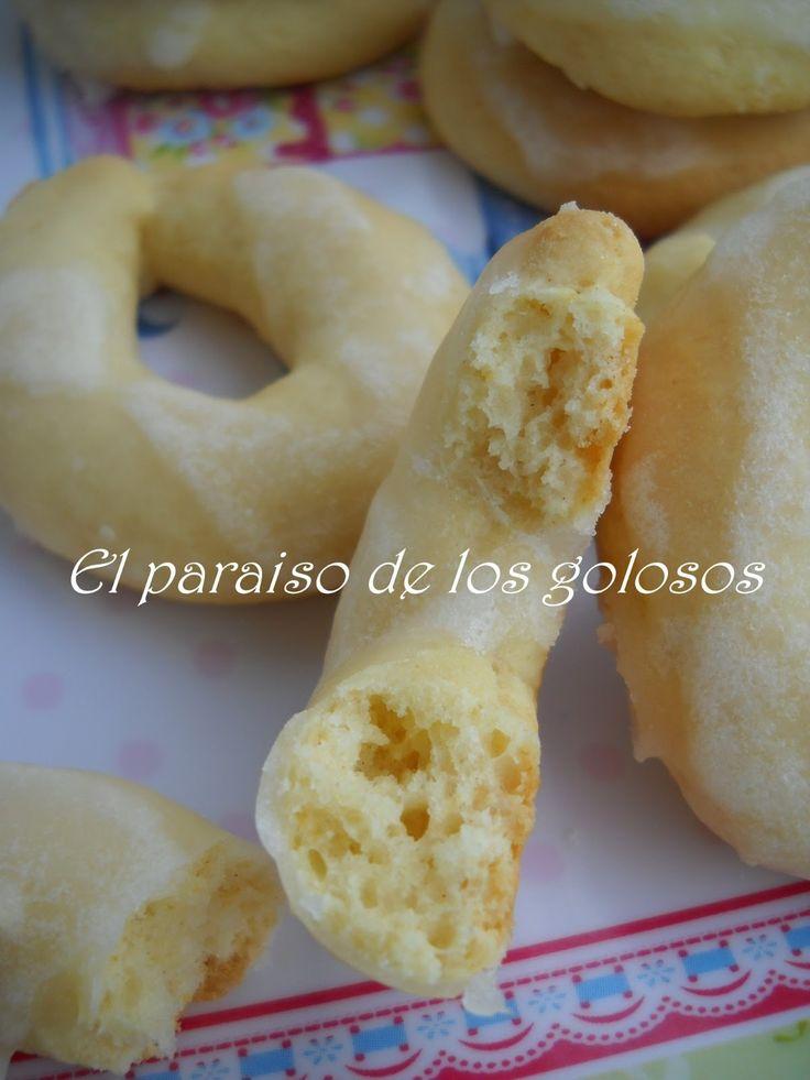 Paraiso: Rosquillas de queso y limón