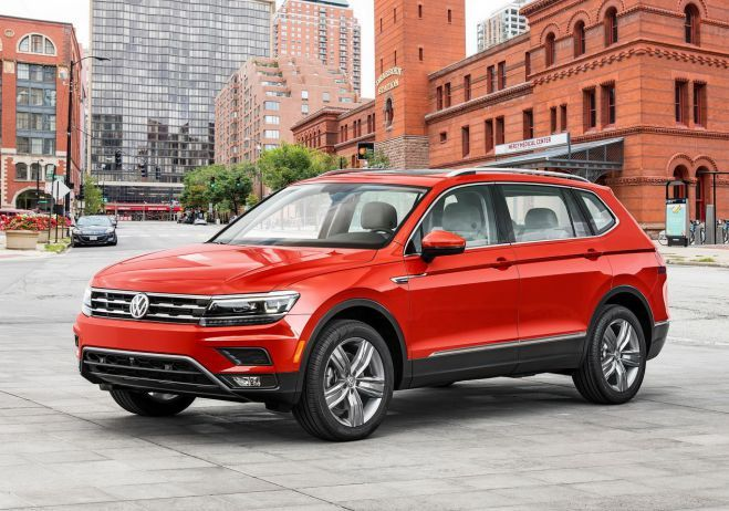 ...the hood, the forthcoming model will be powered by a turbocharged 2.0-liter inline-4 engine... 184 horsepower @ 4400 rpm...2018 VW Tiguan Review...  #2018VWTiguan