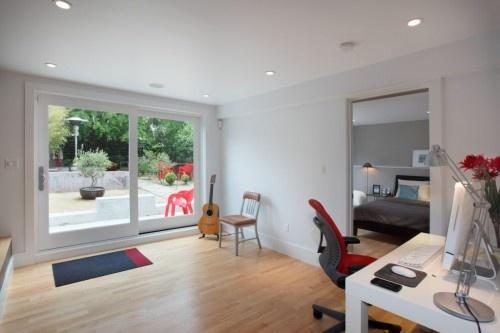 59 best garage conversions images on pinterest - Garage converted to master bedroom ...