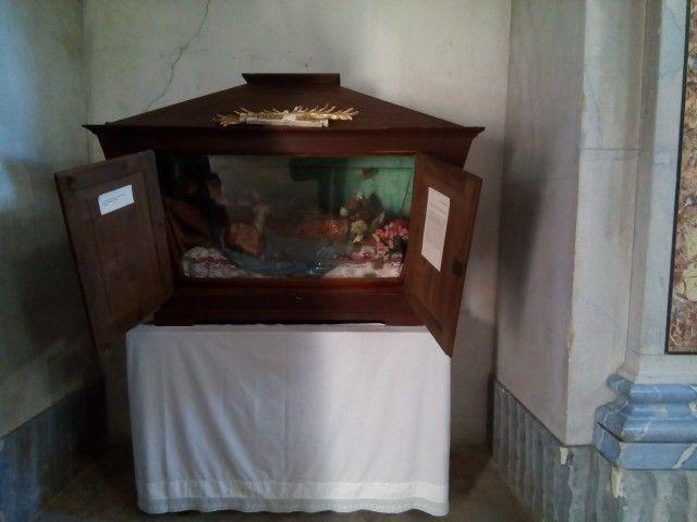 San Filomena- Chiesa di Santa Chiara- Ferrandina Secolo XIX- Cartapesta