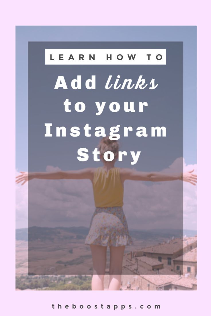 How To Add Links To Instagram Stories Boosted Instagram Story Instagram Marketing Strategy Instagram Marketing