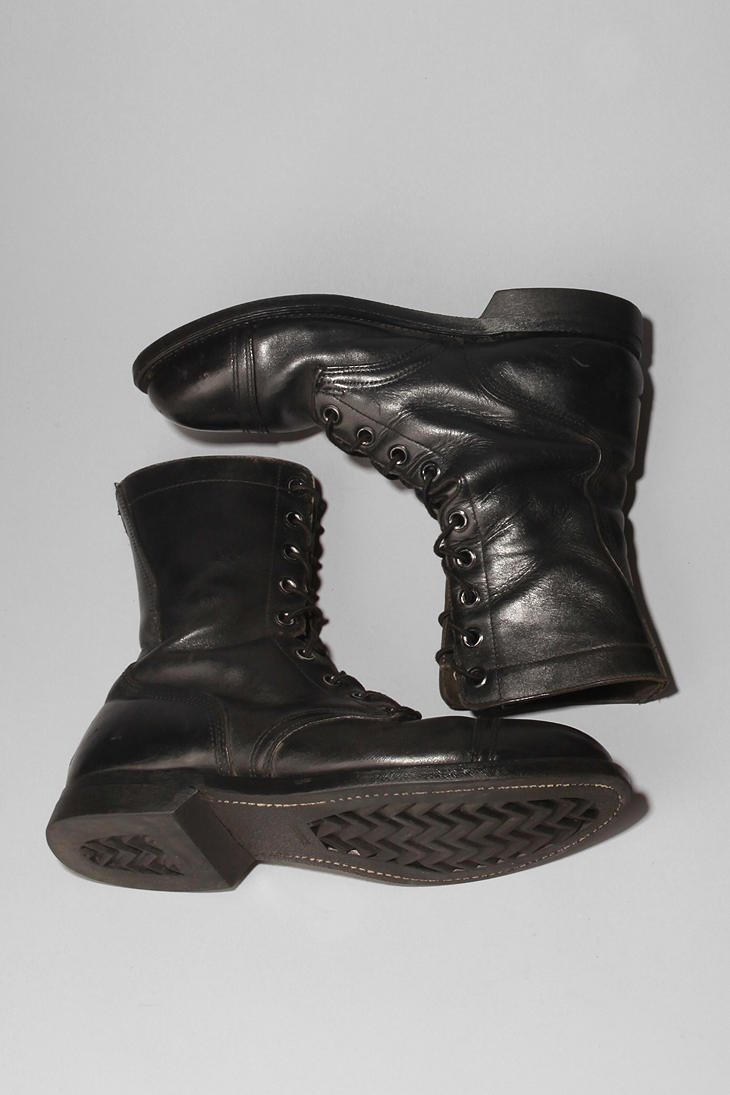 And these perfect shoes xx Urban Renewal Vintage Men's Combat Boot  #UrbanOutfitters
