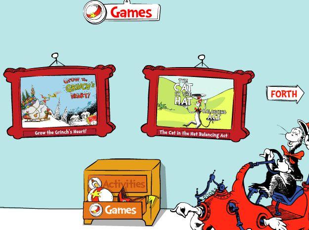 Prep Wonderful: Seussville games
