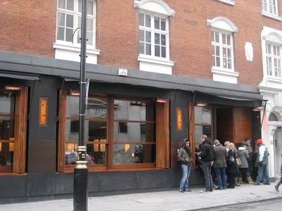 Busaba Soho - yummy food and great atmosphere.