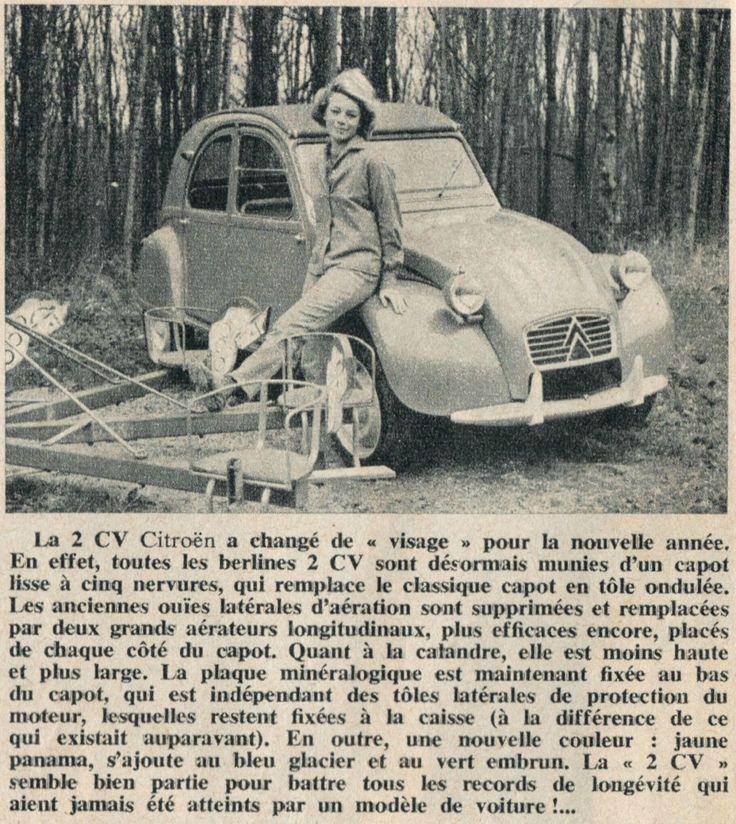 """Quand le """"Journal de Tintin """" enterrait la 2cv CO - 2 CV à capots ondulés"""