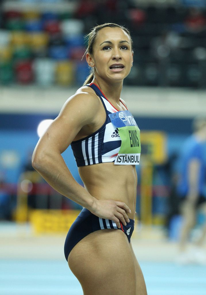 Jessica Ennis - IAAF World Indoor Championships - Day One