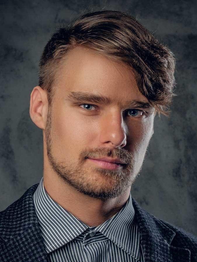 Asymmetrical-Side-Swept-Fringe Selected Hairstyles for Men ...