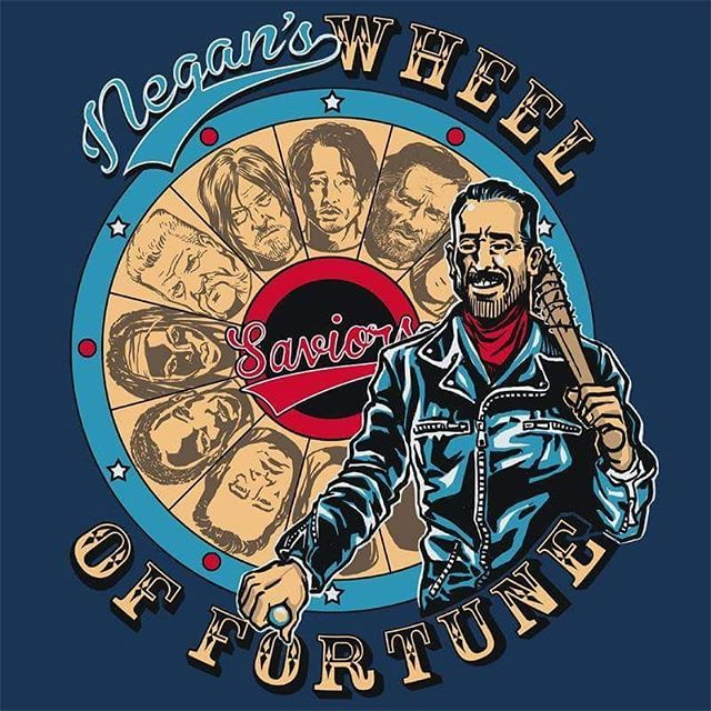 'Wheel Of Fortune' Hurry up October!!   #twd #thewalkingdead #negan #twdfamily…