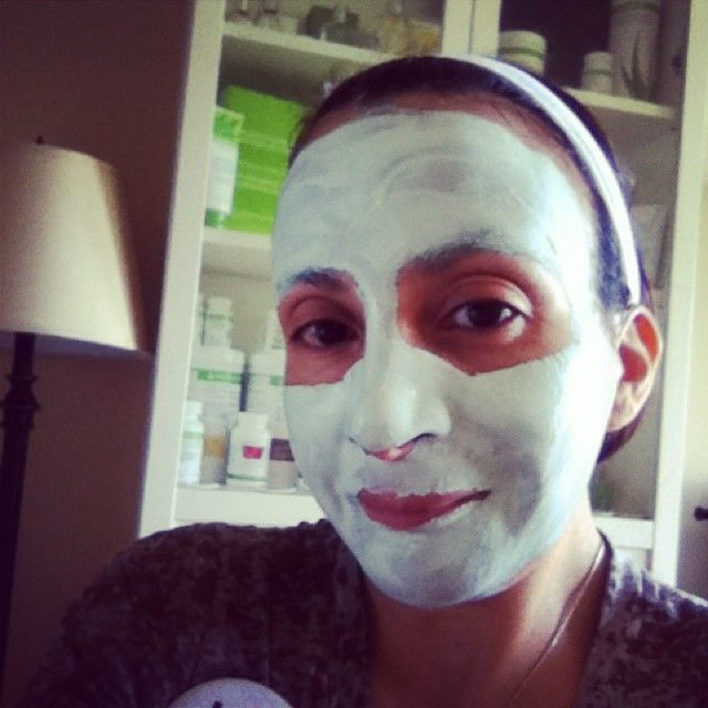 Herbalife Skin Mint Clay Mask :-)Monday