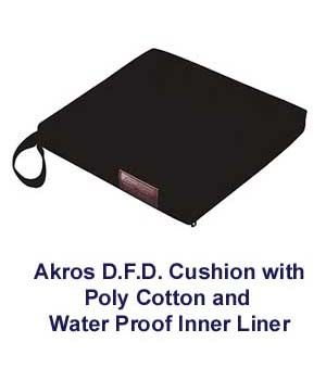 Akros Gel Wheelchair Cushion with Poly Cotton Cover $74.99 FREE Shipping from uCan Health || These Akros 812 Series gel wheelchair cushions are designed for long term care patients who are at risk of pressure ulcers with pressure relief. Shipping is free., wheelchair cushion, wheelchair seat cushion, gel wheelchair cushion, wheelchair gel seat cushion