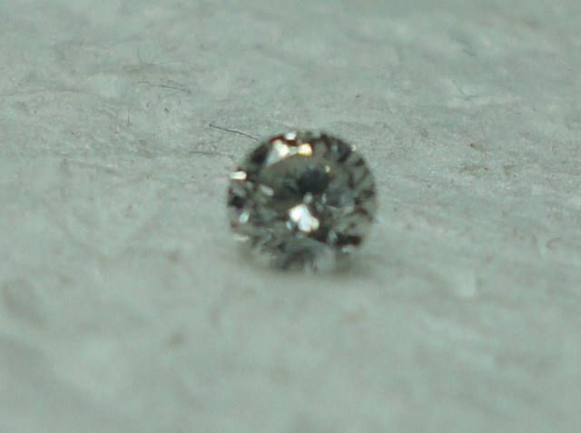 0.07 ct diamond F VS by HassanDiam on Etsy