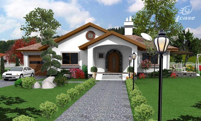 Case cu parter si arhitectura clasica single level homes for Proiect casa clasica b 178 m