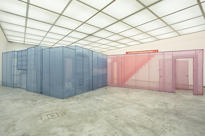Do Ho Suh: in between Installation view Hiroshima City Museum of Contemporary Art, Japan August 4 - October 21, 2011