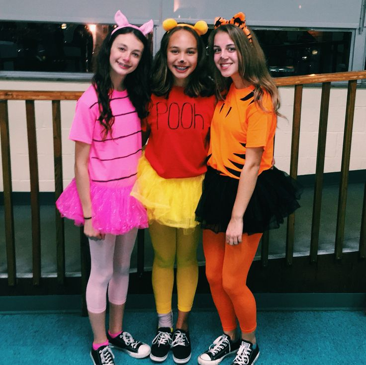 Winnie the Pooh piglet and tigger costumes