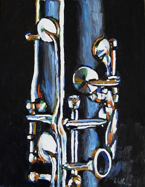 Clarinet by Kevin Wells. The Clarinet was the first Musical Instrument i Played at twelve years old.