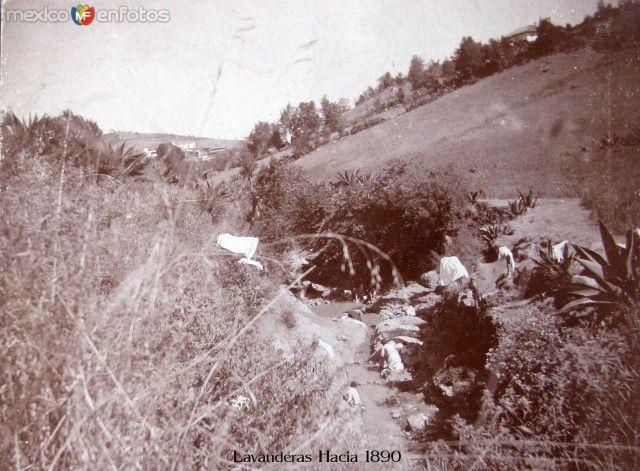 Fotos de El Oro, México, México: Lavanderas Hacia 1890