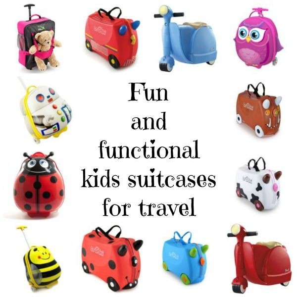 Fun and Functional Kids Suitcases for travel