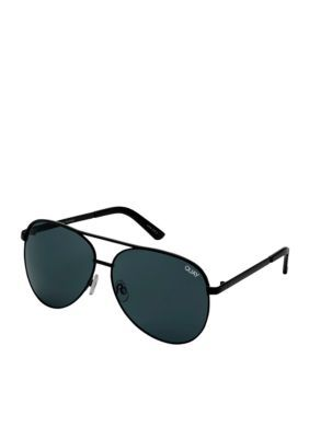 Quay Australia Women's Vivienne Sunglasses - Black Smoke - One Size