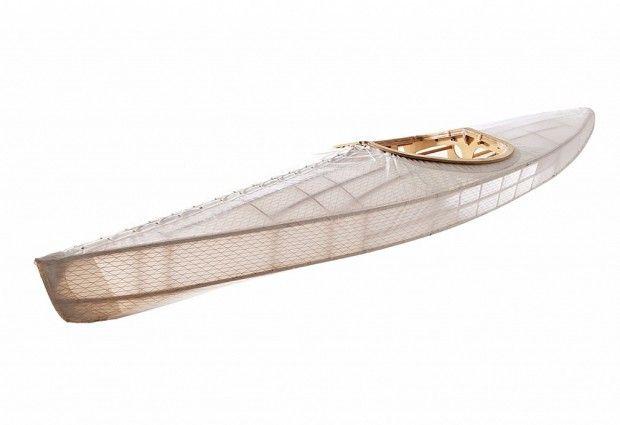 Créée par Ben Cooper et le designer australien Andrew Simpson « The O Six Hundred Kayak » est une embarcation moderne qui utilise un design et une structure vieille de 4 000 ans.
