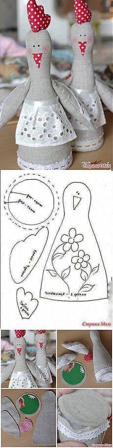 Pollo de Pascua-amante:. Grupo diario & quot; club de artesanías & quot;  - casa las mamás