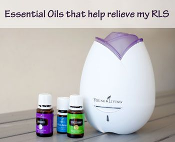 Essential Oils to help Restless Leg Syndrome. | Running With Spears #RLS #EssentialOils #YoungLiving