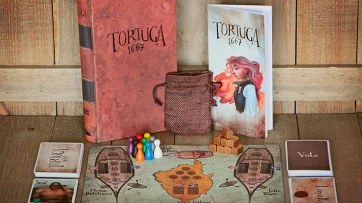TORTUGA 1667 Kickstarter Brings Treacherous Pirates To Tabletop Gaming