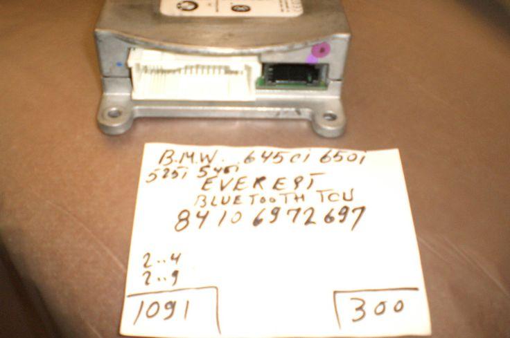BMW   645ci - 650i - 525i - 545i - Bluetooth - 84106972697
