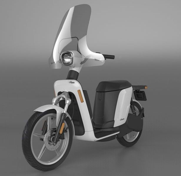 eS1 Electric Scooter by Emo Design