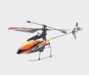 WL V911 4CH 2.4GHz LCD screen Solo pro R/C RC Helicopter RTF by Aoace. $42.19. Charging time: About 30 mimutes (USB charging). Battery for helicopter: 3.7V 120mAh/15C Li-Polymerv. Flying time: About 5-6 minutes. Battery for controller: 6 * AA batteries (not included). Helicopter size: 22 * 5 * 8.2cm. of WL V911 - WLToys 4CH 2.4G RC helicopter with built-in Gyro.   The first RC helicopter that can fly outdoor in wind weather (outdoor wind grade 3-4).   Pioneering single propeller...