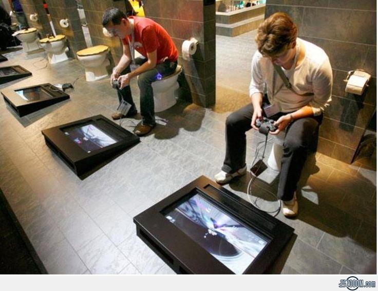 Gamers Bathroom