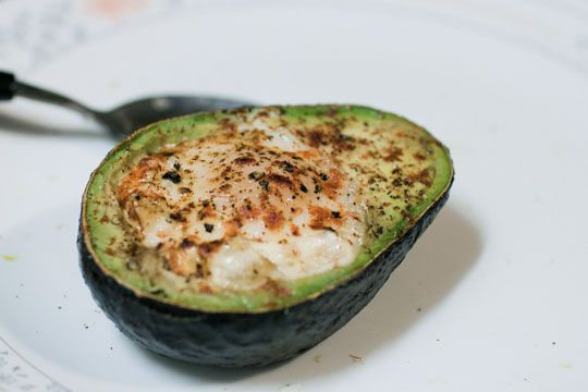 Egg Baked in an Avocado.