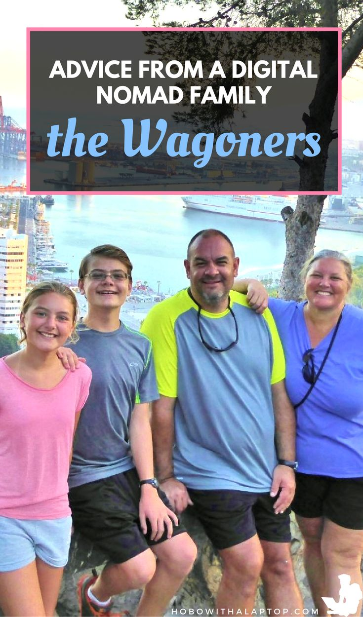 The Wagoners decided to take matters into their own hands. They saved money, sold their home, quit their jobs and designed their own lifestyle. Read more @ http://hobowithalaptop.com/wagoners-abroad-digital-nomad-family