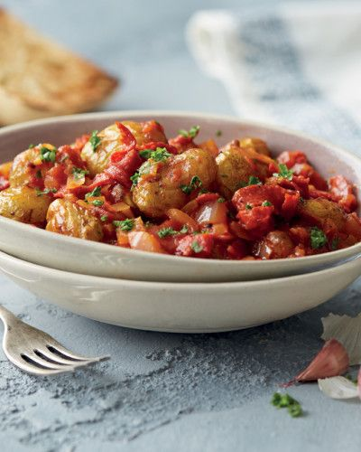 Patatas Bravas with Chorizo - Aldi recipes