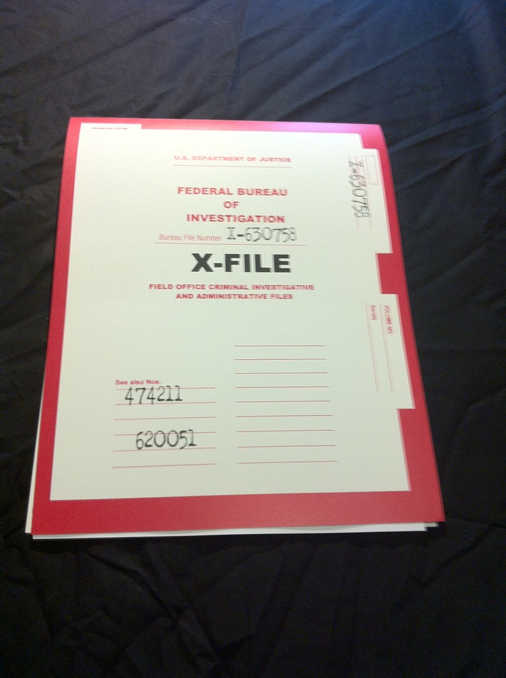 XFiles Case Folder Prop Replica: Xfiles Case, Field, Worth Reading, Cases, Books Worth, Case Folder, Fiction, Folder Prop
