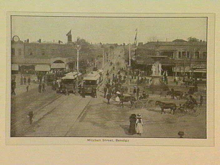 Mitchell St,Bendigo in Victoria (year unknown).A♥W