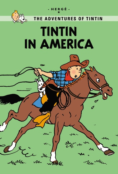 Little, Brown Young Readers Tintin in America  Published: September 2011  Tintin travels to Chicago to clean up the crime-ridden city. Narrowly escaping death at the hands of Al Capone's henchmen, Tintin battles crooks and skilfully escapes from traps. As the adventure continues the reporter visits a Native American reservation and witnesses the chaotic runaway success of the American oil industry and big business. In this new extended edition, 30 extra pages explain the inspiration behind…