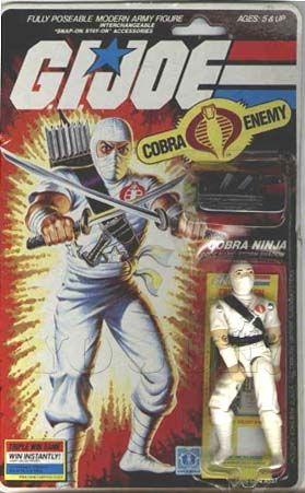 Storm Shadow (v1) G.I. Joe Action Figure - YoJoe Archive