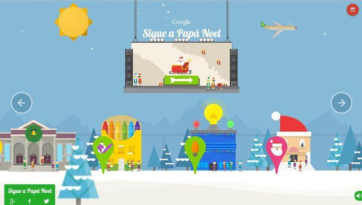 Google Santa Tracker, ¡Cómo saber dónde está Papá Noel hoy repartiendo regalos! ~ Diarios de la nube
