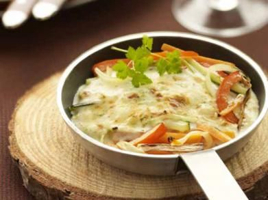 Gourmet met groentejulienne (Libelle Lekker!)