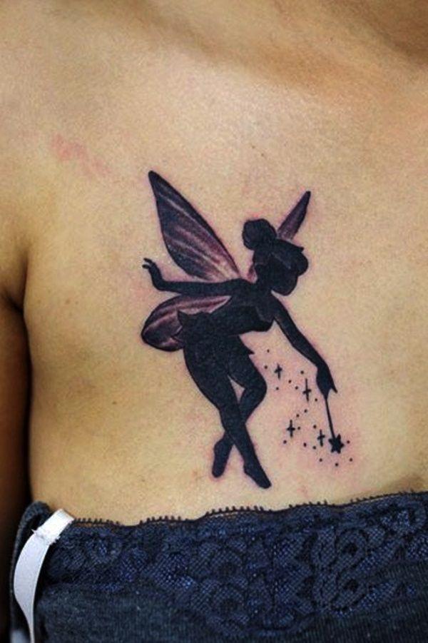 40 Adorable Fairy Tattoo Designs
