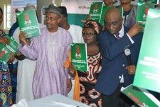 Management Sciences for Health and Nigerias Ministry of Health Unveil National Guidelines for HIV Prevention Treatment and Care  NGO Job Vacancy  Management Sciences for Health and Nigerias Ministry of Health Unveil National Guidelines for HIV Prevention Treatment and Care  Amarachi Obinna-Nnadi  July 05 2017  Representative of the Hon. Minister of Health Mr. Arioye Segilola (right) and Dr. Zipporah Kpamor Country Representative for MSH with other dignitaries displaying the unveiled 2016…