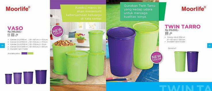 Moorlife Vaso New Color (295.000) & Twin Taro new color (215.000) Harga diatas belum termasuk discount