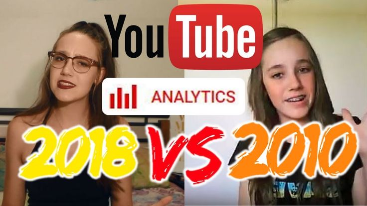 When was the best time to start YouTube? Comparing YouTube Stats 2010 vs...