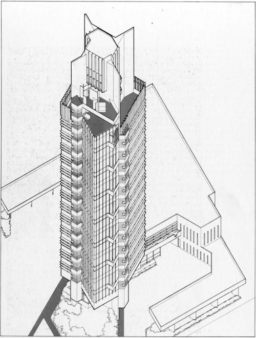 61 best images about price tower stuff on pinterest for Frank lloyd wright bartlesville
