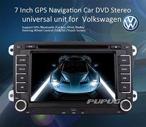 EinCar Car DVD GPS RADIO Lecteur Windows CE 8.0 UI pour VW Volkswagen CC Jetta Passat Tiguan Polo Golf Skoda Couleur Noir 7 pouces En Dash…